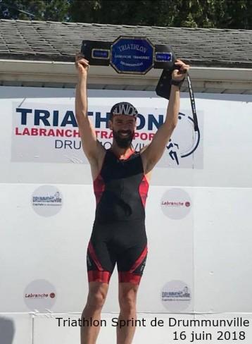 Triathlon Sprint Drummunville 16 juin