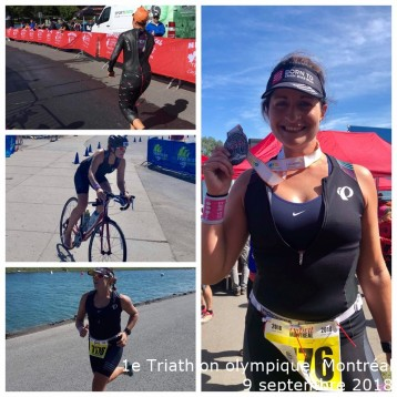 1e Triathlon olympique, 9 septembre 2018