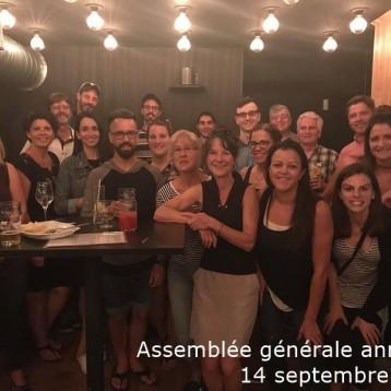 Assemblée générale annuelle, 14 septembre 2018