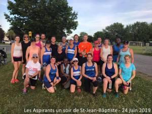 Les Aspirants un soir de St-Jean-Bâptiste - 24 juin 2019