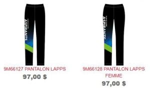 Pantalons H-F