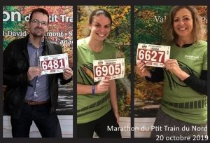Marathon P'tit Train du Nord - 20 octobre 2019