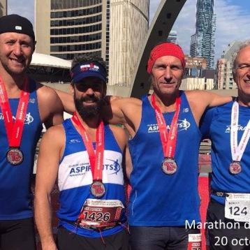 Marathon Toronto - 20 octobre 2019