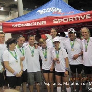 Aspirants, Marathon Mtl - sept 2010